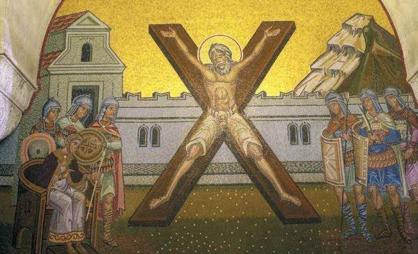 O άγιος Ανδρέας ο Πρωτόκλητος
