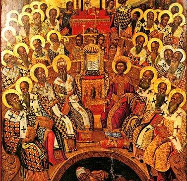 Ὁμιλία, σὺν Θεῷ ἁγίῳ, εἰς τὸ Εὐαγγέλιον τῆς Κυριακῆς τῶν ἁγίων Πατέρων τῆς Α΄ Οἰκουμενικῆς Συνόδου